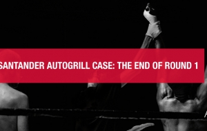 The Santander Autogrill case: the end of round 1